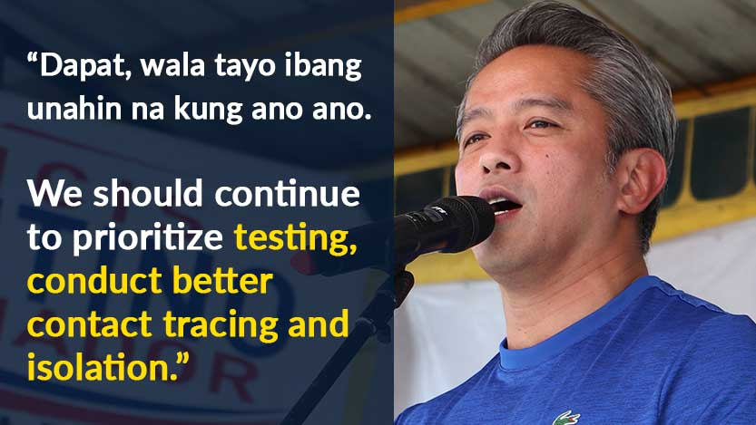 """Remulla, Kinuwestiyon ang Constitutional Reforms: """"Is It the Right Time?"""""""