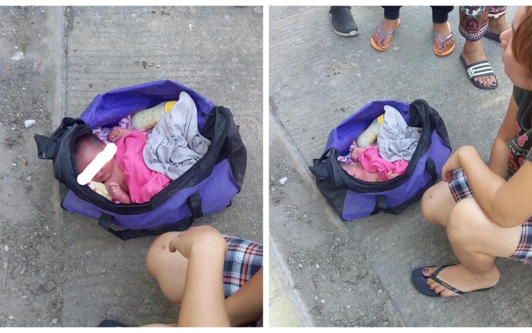 Bagong Panganak na Bata, Nilagay sa loob ng Bag at iniwan sa Imus Cavite