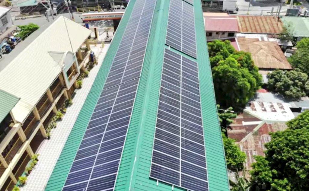 Eskwelahan sa Imus, Pinakabitan ng Solar Panels!