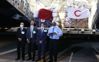 Mahigit 40 Toneladang Relief Goods mula sa Qatar- Lumapag Na!
