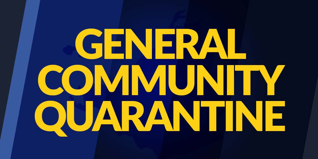 Cavite, Isasailalim Muli sa General Community Quarantine!