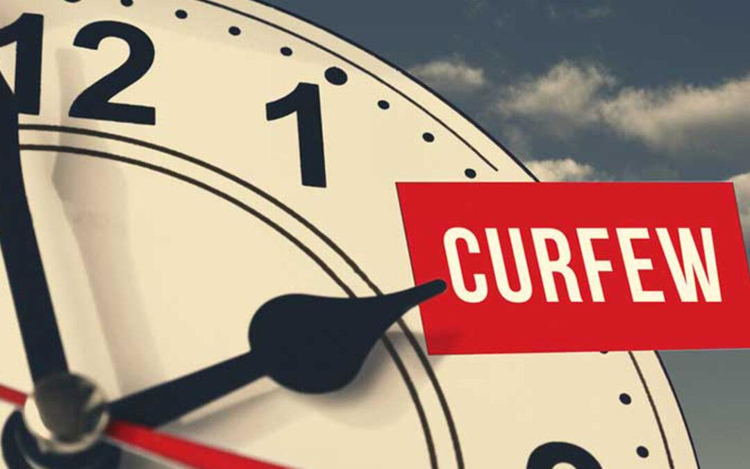 Updated Curfew Hours sa Cavite