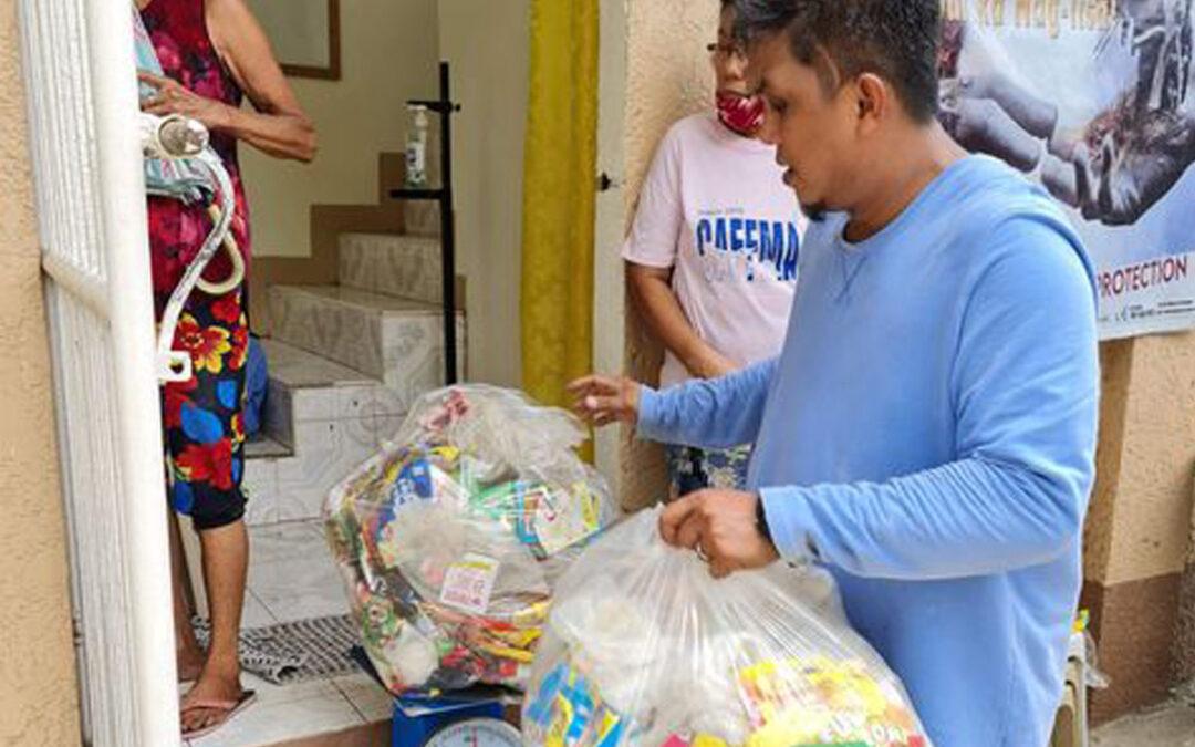 Plastik Palit Bigas Program sa Bailen, Cavite